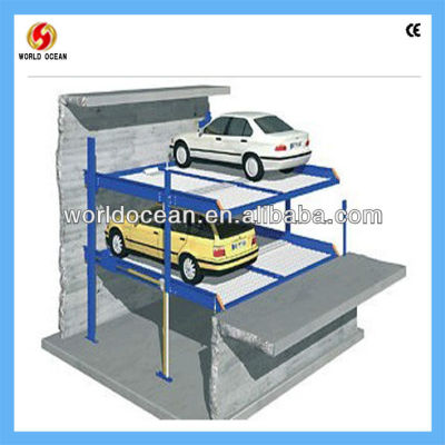 Parking Lift In Pit For 4 Cars WP4-10