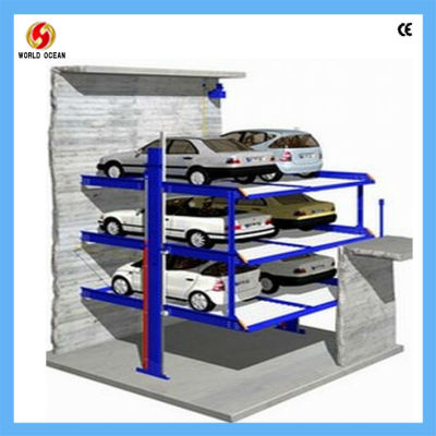 Parking Lift In Pit For 6 Cars WP6-15