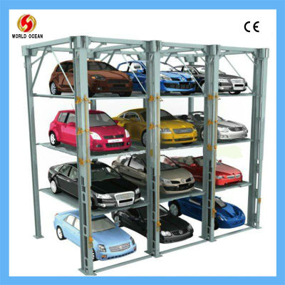 Dependent double parking car lift And Stacker Buliding WOWFMP