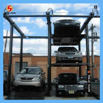 Quad Vehicle Storage WP3-2P Parking system