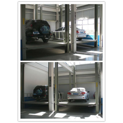 New latest product 4 post car parking elevator