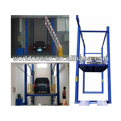 Hydraulic lifting platform with capacity 3000kgs