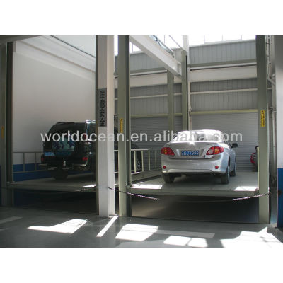 2013 new hydraulic 4 post car lift platform for cars and cargoes