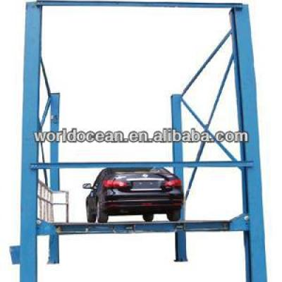 4 post hydraulic car lifting platform for car and cargo