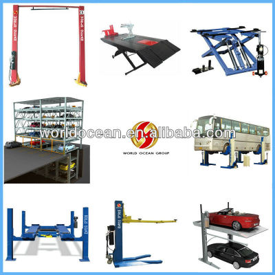 Hydraulic car lift, vehicle lift, auto lift, used car lift