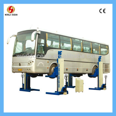hydraulic lift truck for bus/ coach/ truck use