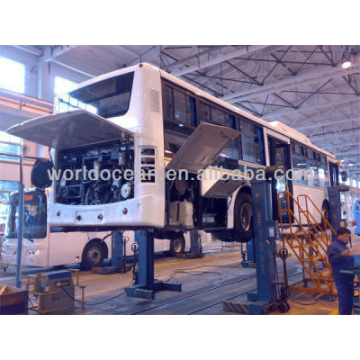 4 POST 20T-30T LARGE vehicle mobile bus lift