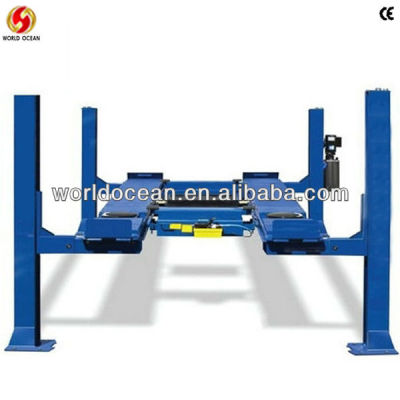 hydraulic 4 post vehicle lift,auto alignment lift