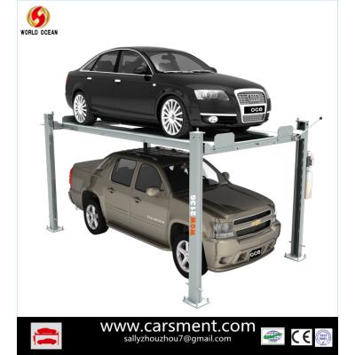 2013 hot sale 4 post car parking lift