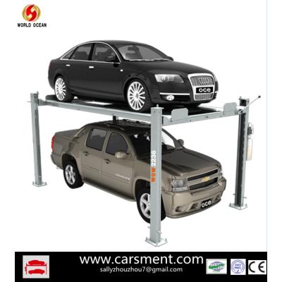 2013 Hot Sale 4 Post Car Parking lift  3.6T