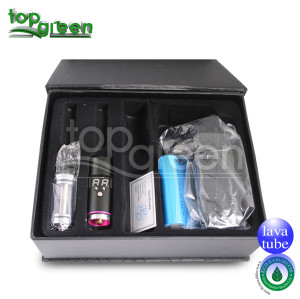 Topgreen e-cig Lavatube ecig de tension variable