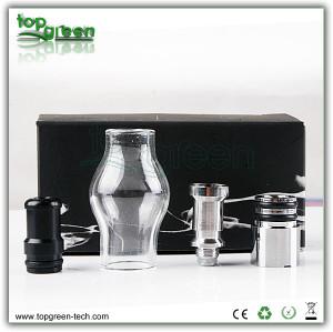 2013 nouveau produit globe en verre vaporisateur dernière vaporisateur de cire