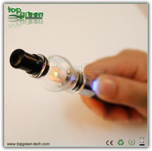 2013 USA vente chaude vaporisateur verre Pyrex stylo de cire Globe portable
