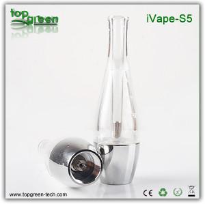 Nouvelle arrivée! Gobelet en plastique Réservoir Ivape-S5 pour les cigarettes électroniques de vente