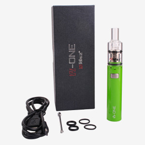 XMAX V-ONE  WAX VAPE PEN GREEN quartz coil vaporizer