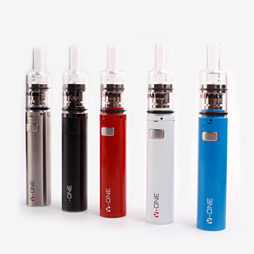 wholesale portable concentrate vaporizer kit with glass mouthpiece
