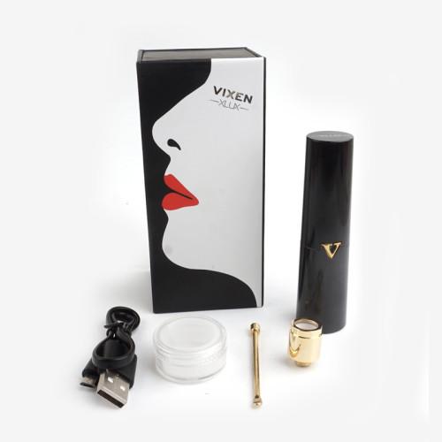 XLUX VIXEN Female Wax Vaporizer in Black