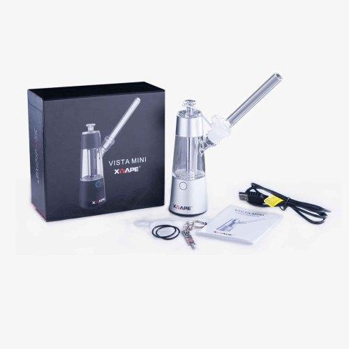 XVAPE VISTA MINI vaporizer for smoking, the worlds first wireless charging  dabbing rig