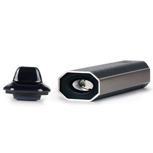 BLACK XVAPE ARIA 2-IN-1 VAPORIZER FOR DRY HERB AND WAX with Vibration alert