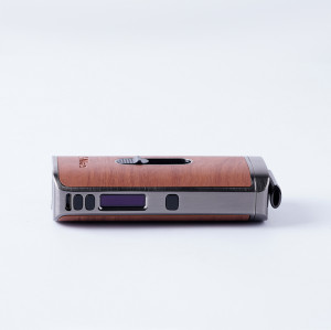 XMAX ACE herb and concentrate VAPORIZER with auto-cleaning function in wood