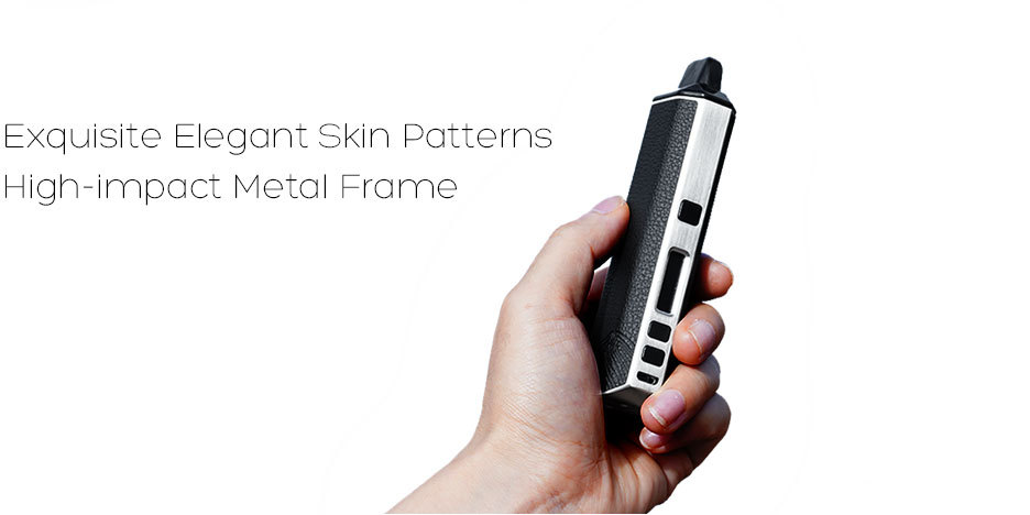 XVAPE ARIA Exquisite elegant skin patterns and High-impact meat frame