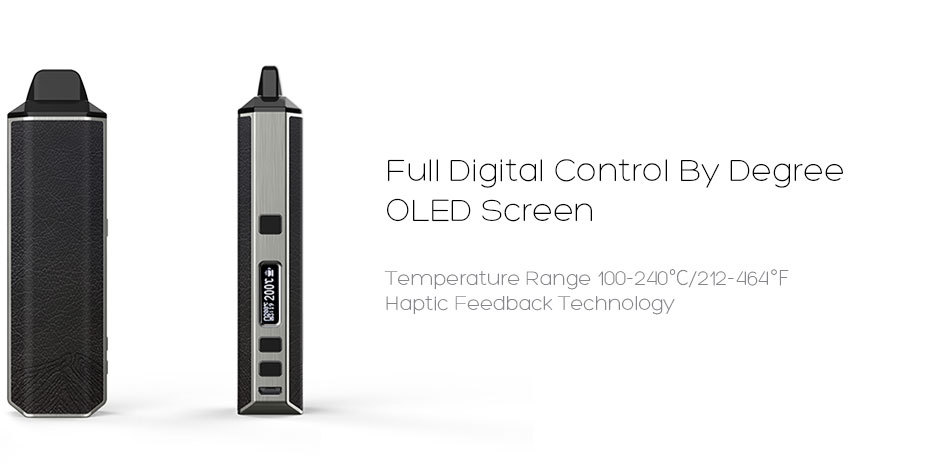 XVAPE ARIA CONTROl BY DEGREE OLED SCREEN