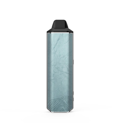 GLACIER BLUE XVAPE ARIA 2-IN-1 VAPORIZER FOR DRY HERB AND WAX with 100% ISOLATED AIRFLOW