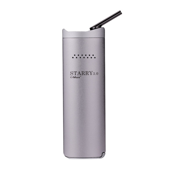 SILVER XMAX STARRY 3.0 2-IN-1 VAPORIZER FOR DRY HERB AND WAX with Vibration alert