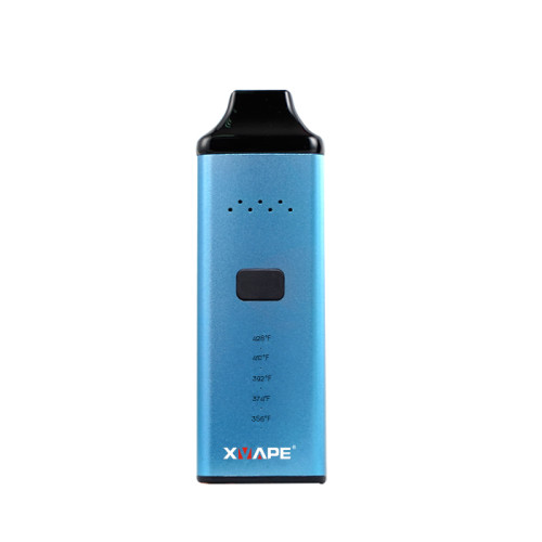 ELEGANT BLUE XVAPE AVANT DRY HERB VAPORIZER WITH CERAMIC MOUTHPIECE AND CHAMBER