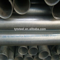 This product has had certain related information (including production machinery & processes, certifications etc.) verified by . Click to viewshouldered end hot dipped galvanized steel pipes song@tytgg.com