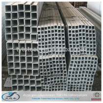 pre galvanized square steel tube made in china