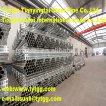 the best!! ERW galvanized /hot diped /pre-galvanized steel pipe!TYTGG!