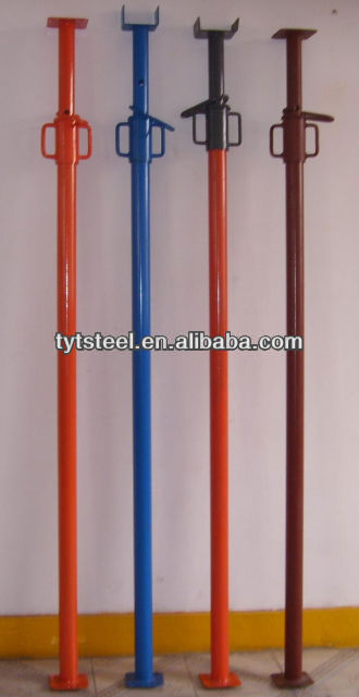 Difference Shoring Props : Adjustable steel system scaffold shoring prop middle east