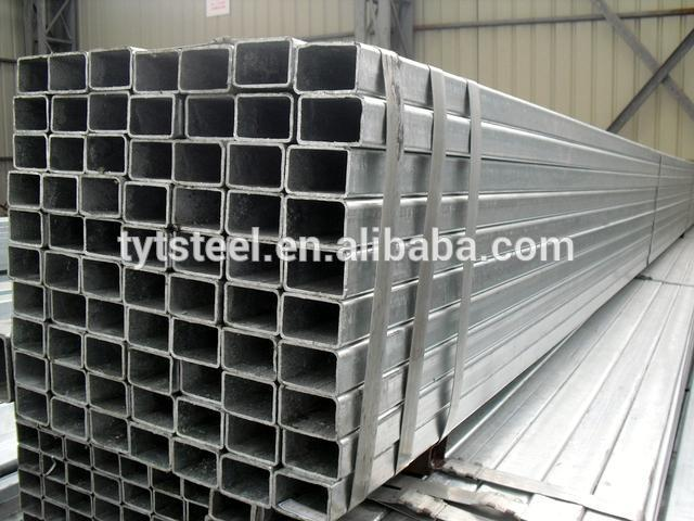 ERW black and galvanized welded square pipe/rectangular pipe