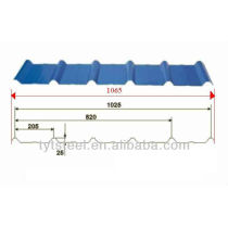 Trapezoid Metal Roofing Sheets