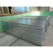 pre-galvanized scaffolding steel plank with hooks