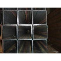 sqaure & straight galvanized steel pipe