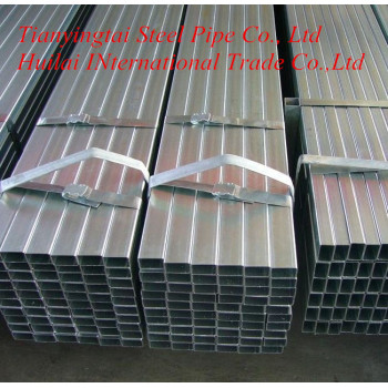 ERW pre galvanized steel square/rectangular pipe/tube