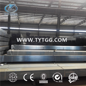 Pre-galvanized square steel pipe/tube