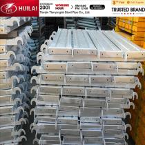 HOT!pre galvanized scaffolding steel plank with hooks!