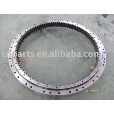 Excavator slew bearing for Single-row ball slewing ring