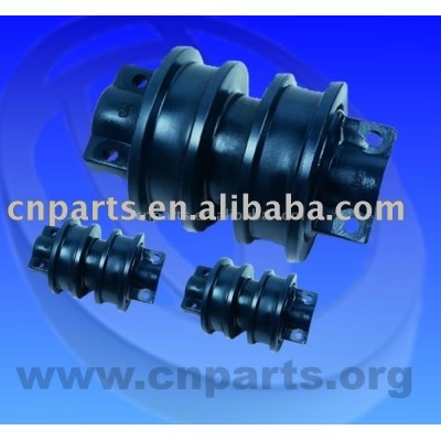 Sell D60 double flange Excavator Track roller Quality gurantee OEM dimension Brand New Track roller