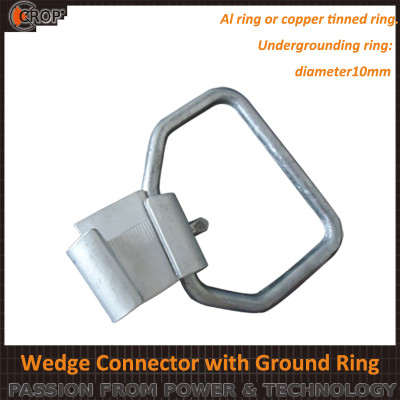 Amp Connector Wedge Connector with Ground Ring