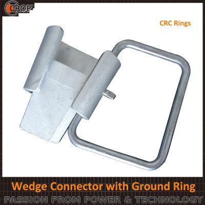 Electrical connectors ring type connector Wedge type Connector with Ground Ring