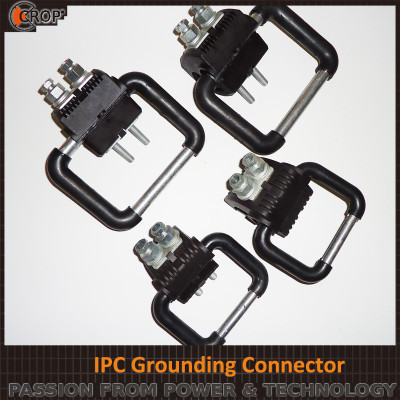 Piercing connector with ring /Grounding Connector