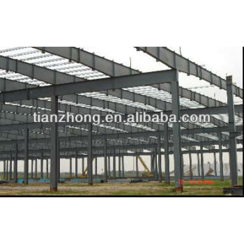 Prefabricated Steel Structure Frame with Customized Design