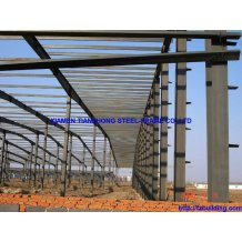 Steel Frame Light Weight Industrial Buuilding