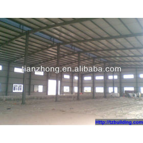 Metal Structure Frame Prefabricated Steel Building