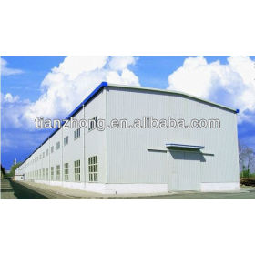 Integrated Steel Structure Building for Production, Storage and Office Work