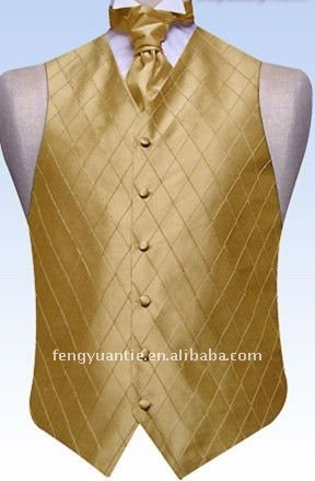 classic%20gold%20pintuck%20embroidered%20silk%20waistcoat%20including%20a%20plain%20silk%20scrunch%20tie_